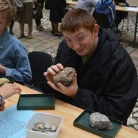 To Touch the Earth, an exhibition prepared by the Jagiellonian University's Geological Museum