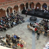 The courtyard of the Collegium Maius duiring the concert