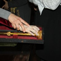 Touching display units - the scepter of the queen Hedviga (Jadwiga)