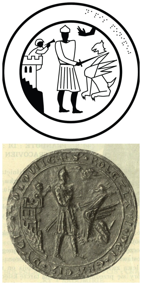 Seal of Bolesław the Pious, Duke of Greater Poland